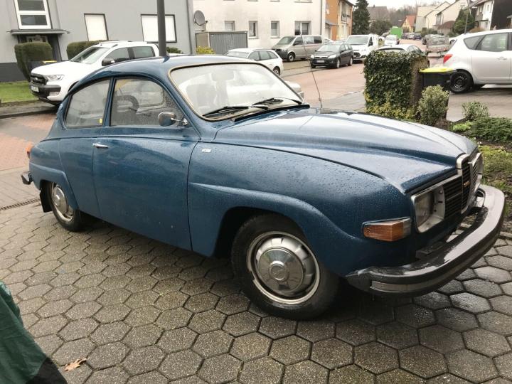 Gesucht: Saab 96 V4 Baujahr 1976
