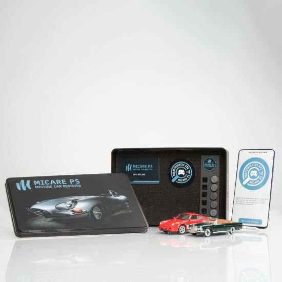 NFC-ID-SET vehicle identification for classic cars, youngtimers and enthusiast vehicles