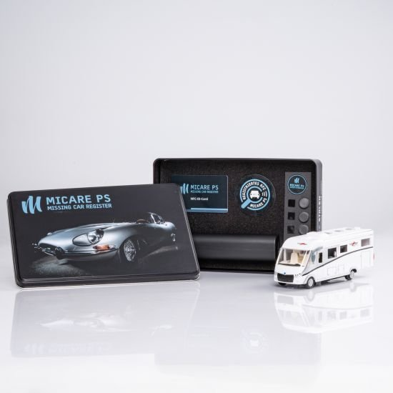 RE-LOCATOR passive tracking system for motorhomes