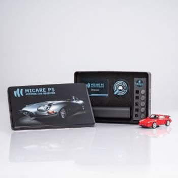 RE-LOCATOR passive tracking system for sports cars