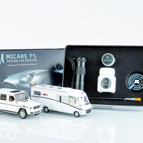 MICRODOT-ID-SET XXL Fahrzeug-Markierung durch künstliche DNA für Wohnmobile, SUVs