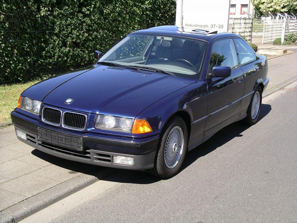 1993 Blue Bmw 325i E36 2c Micare Ps